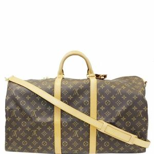 LOUIS VUITTON Keepall 55 Bandouliere Travel Bag